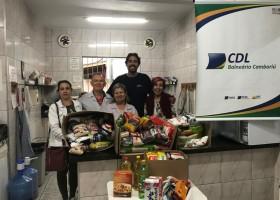 Doação de Alimentos ao Grupo Fraternal Ramatis