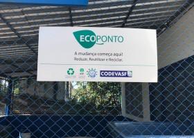 EcoPonto em funcionamento