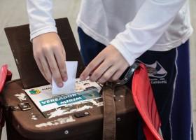 Eleições, curso de capacitação e sessão solene de posse dos vereadores mirins