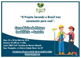 Sarando o Brasil – Curso de Pintura Imobiliária
