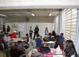 Vereador Mirim - Visita às escolas