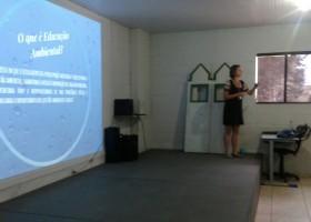 Palestra de Educação Ambiental do projeto