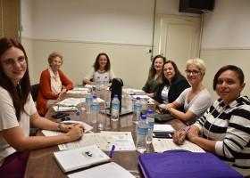 Reunião com a comissão