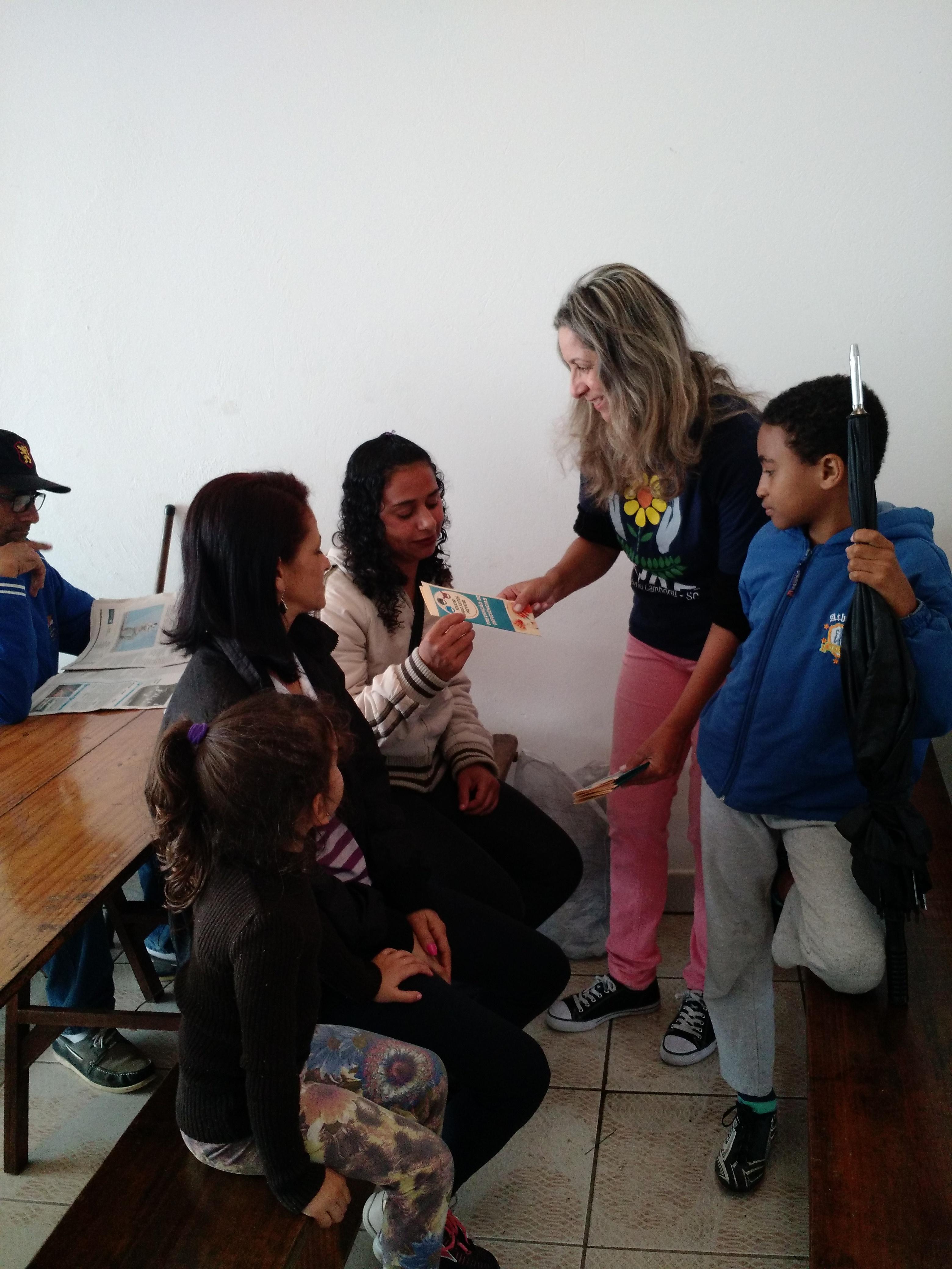 PALESTRA PREVENÇÃO DE DEFICIÊNCIAS - 12/08/2017