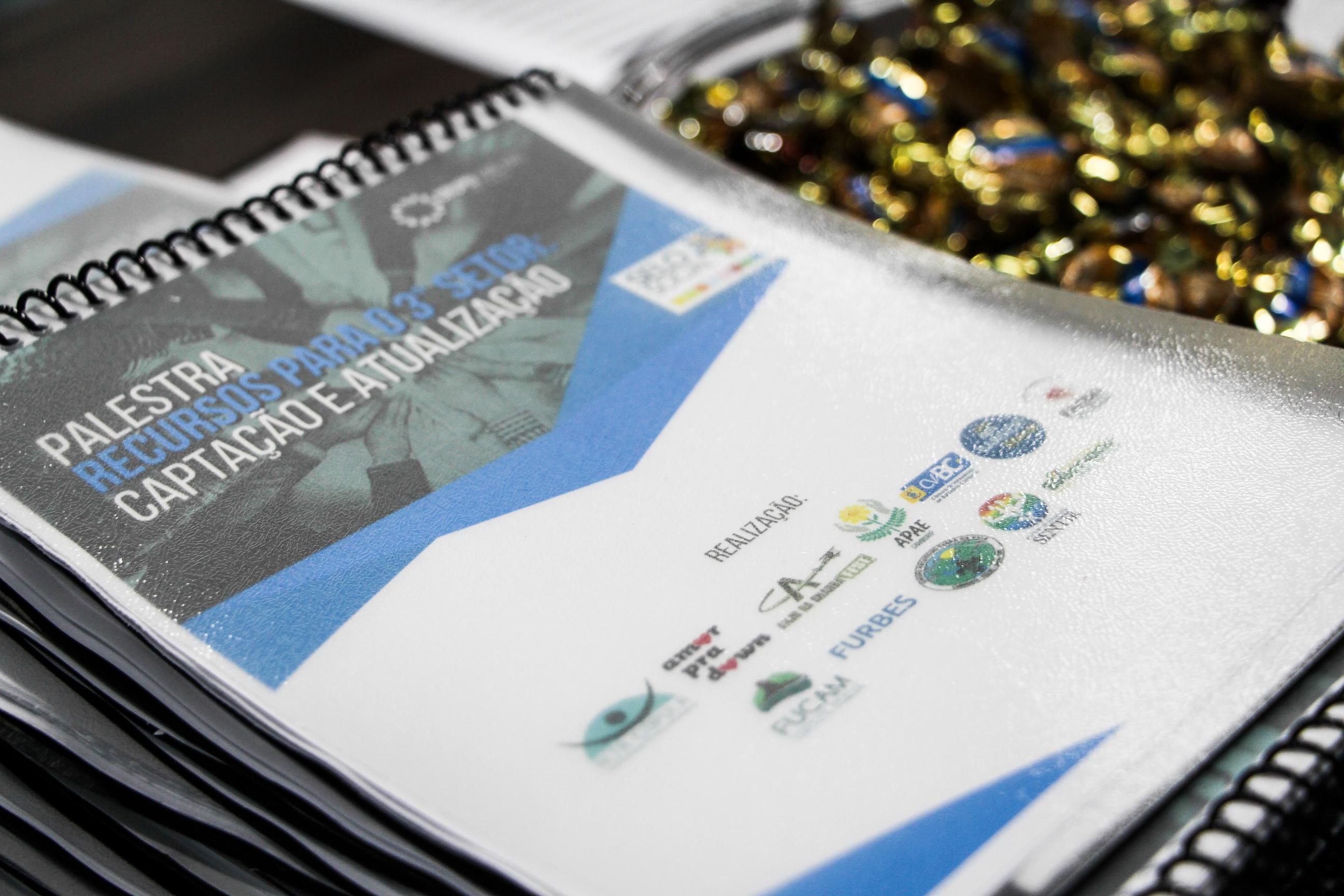 Palestra Recursos para o 3º setor: captação e atualização